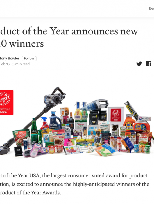 Medium: Product of the Year Announces 2020 Winners