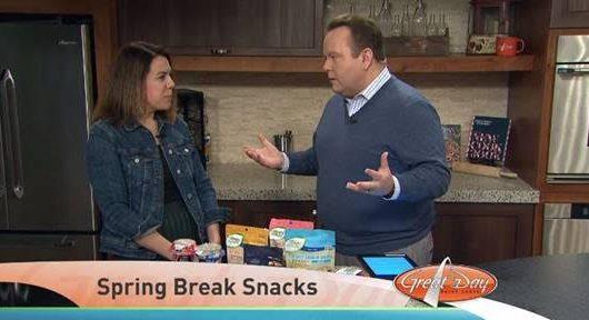 CBS St. Lous: Spring Break Snacks