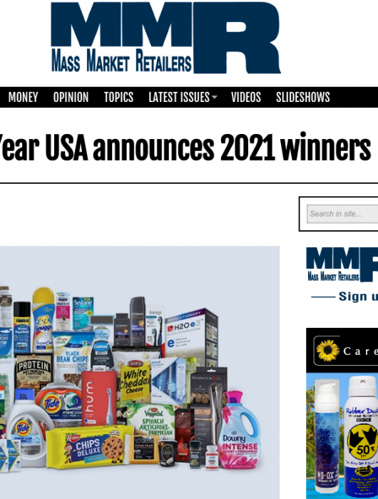 Mass Market Retailers: Product Of The Year USA announces 2021 winners